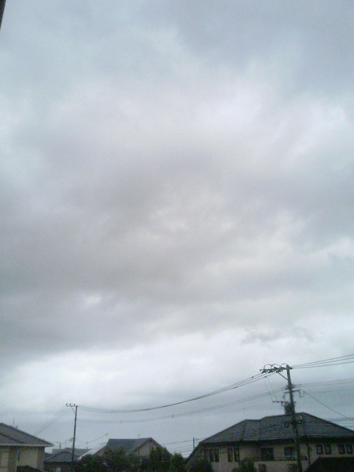 北九州市内の空模様(13:10頃)