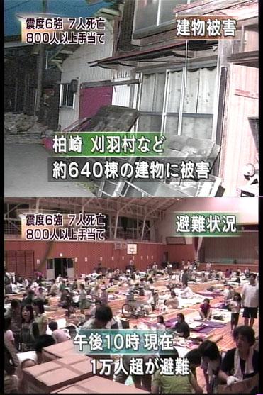 7人死亡・800人以上手当て・約640棟の建物に被害・1万人超が避難(NHK)