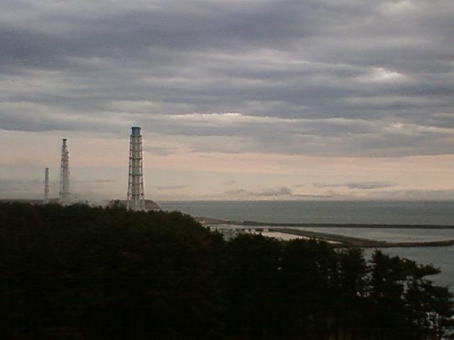 今朝(2011.05.13)の時点でまだ水蒸気が確認できる。