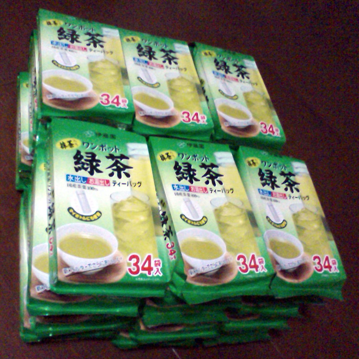 お茶パック1年分まとめ買い(2011年5月)
