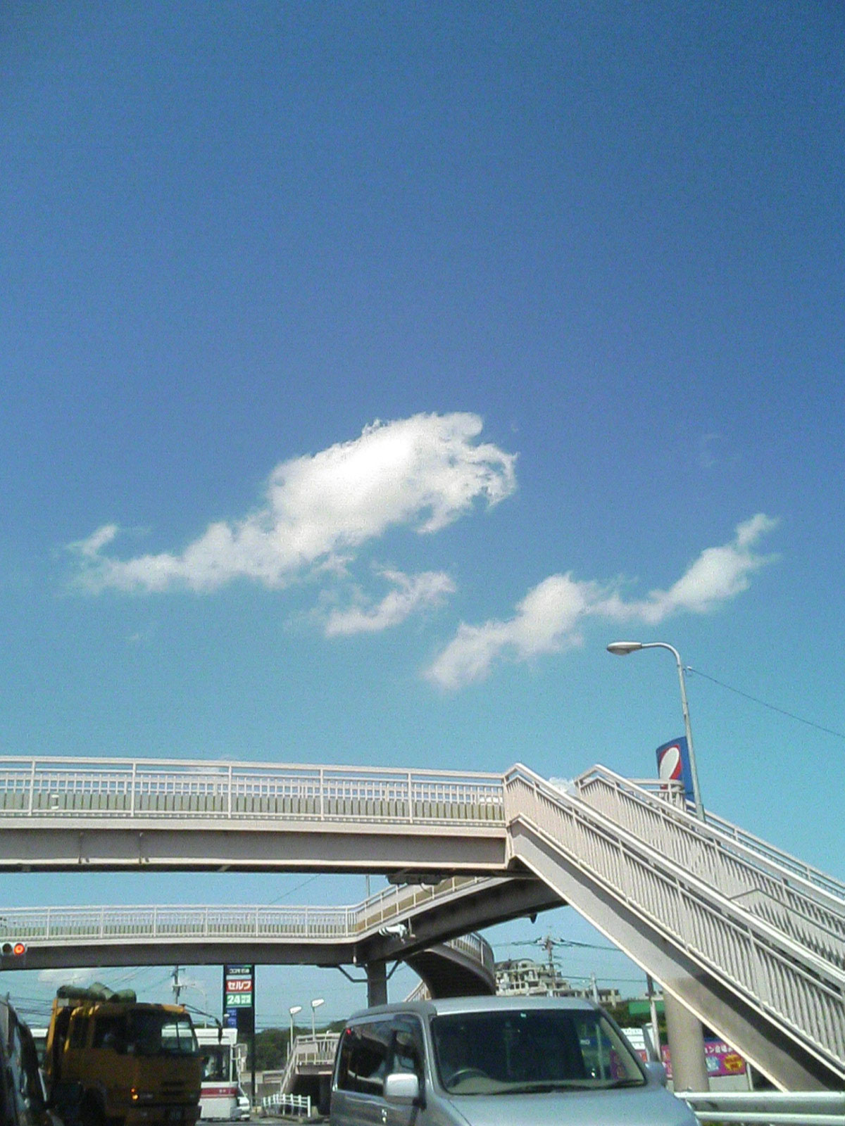 北九州市内の青空(10:53)